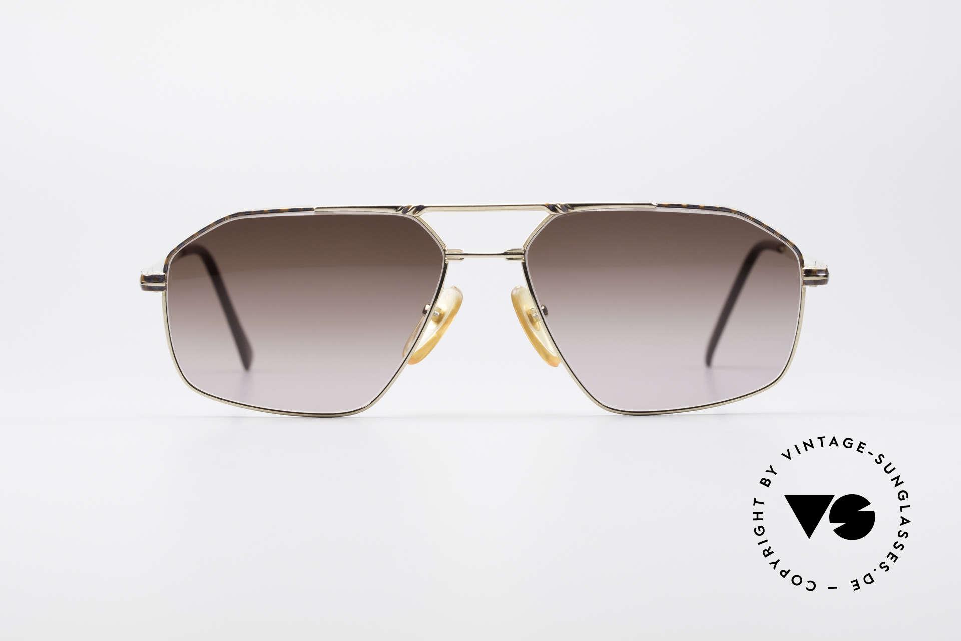 Yves Saint Laurent Aeson Vintage Sonnenbrille, enorm stabiler Rahmen in TOP-Verarbeitungsqualität, Passend für Herren