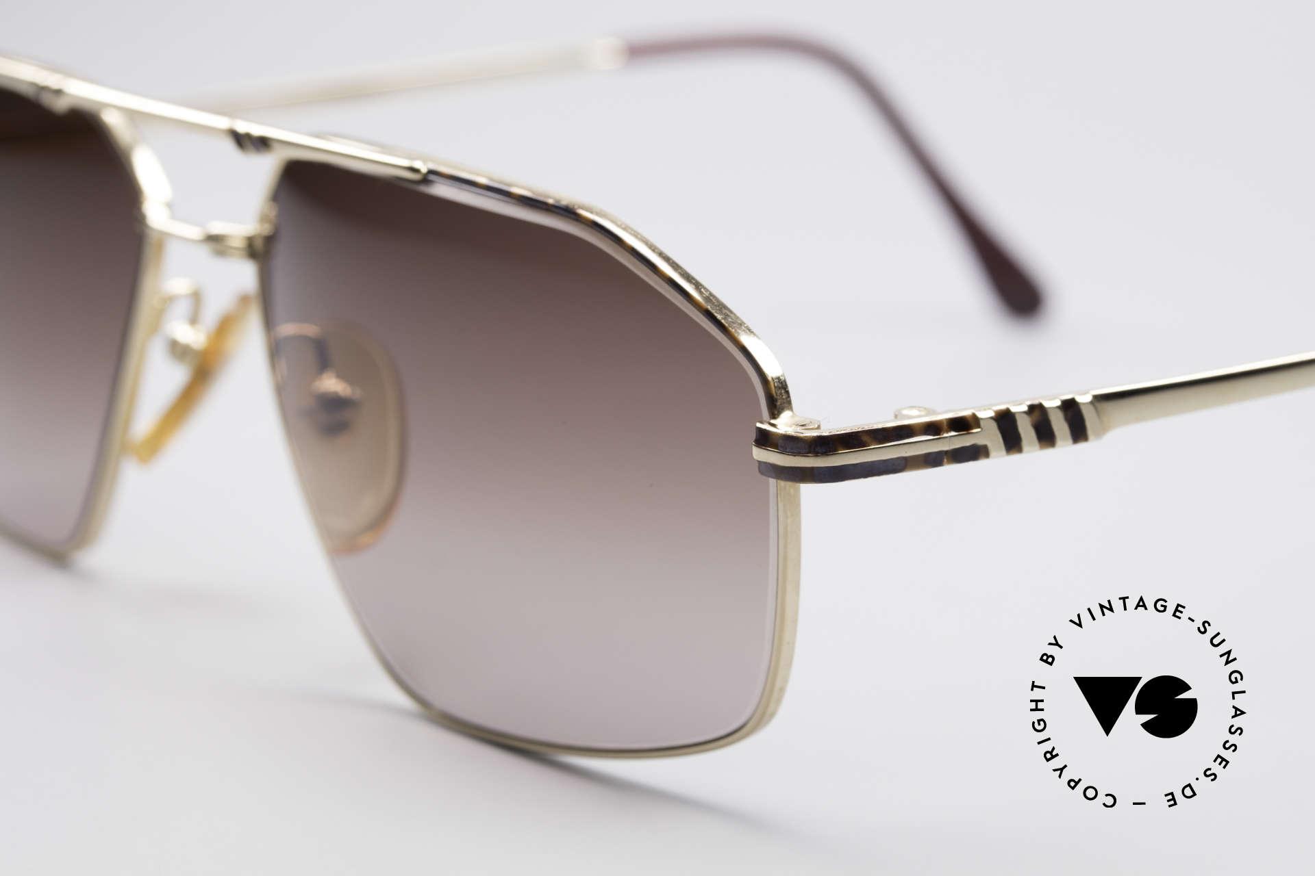 Yves Saint Laurent Aeson Vintage Sonnenbrille, sehr breite Fassung (148mm) mit subtilem Farbmuster, Passend für Herren