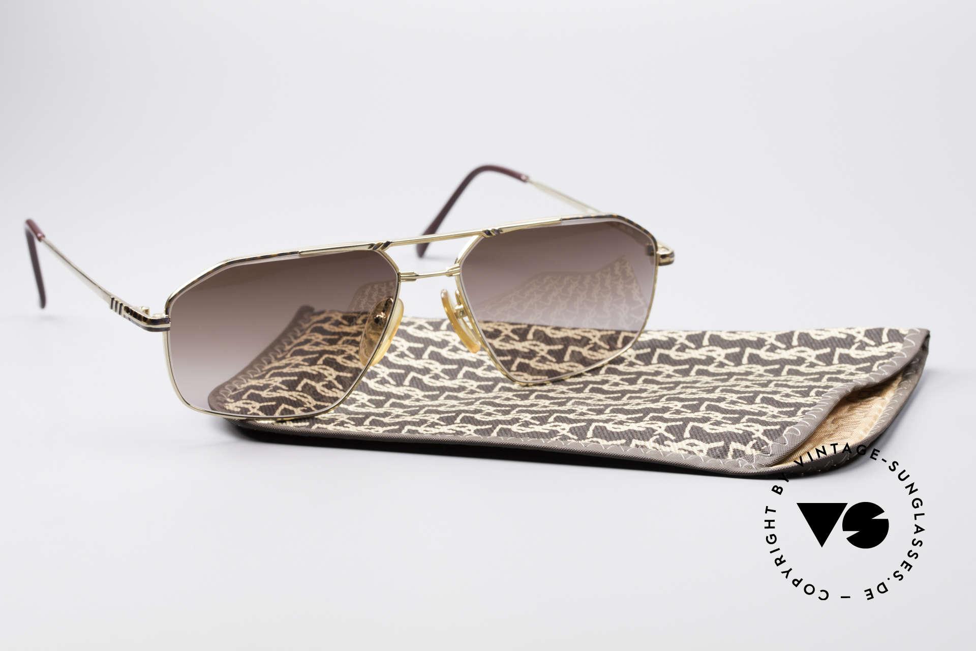 Yves Saint Laurent Aeson Vintage Sonnenbrille, Größe: extra large, Passend für Herren