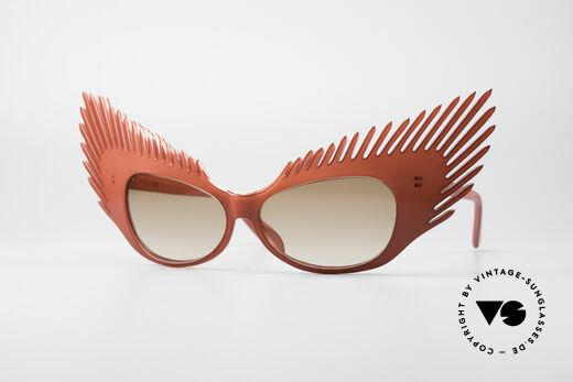 Alain Mikli MYSTERY Haute Couture Vintage Brille Details
