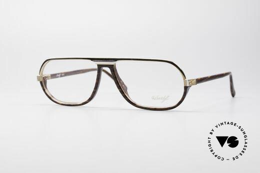 Davidoff 300 Grosse Herren Vintage Brille Details