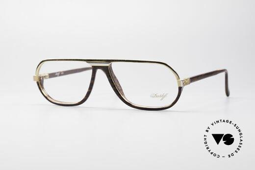 Davidoff 300 Kleine Herren Vintage Brille Details