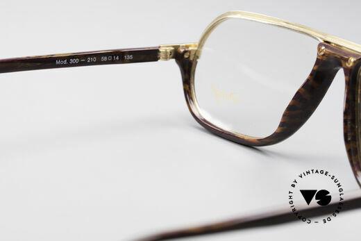 Davidoff 300 Kleine Herren Vintage Brille, altes Unikat in Größe 58/14 kann beliebig verglast werden, Passend für Herren