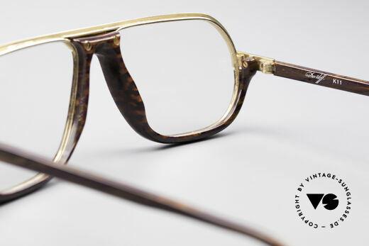 Davidoff 300 Kleine Herren Vintage Brille, Größe: medium, Passend für Herren