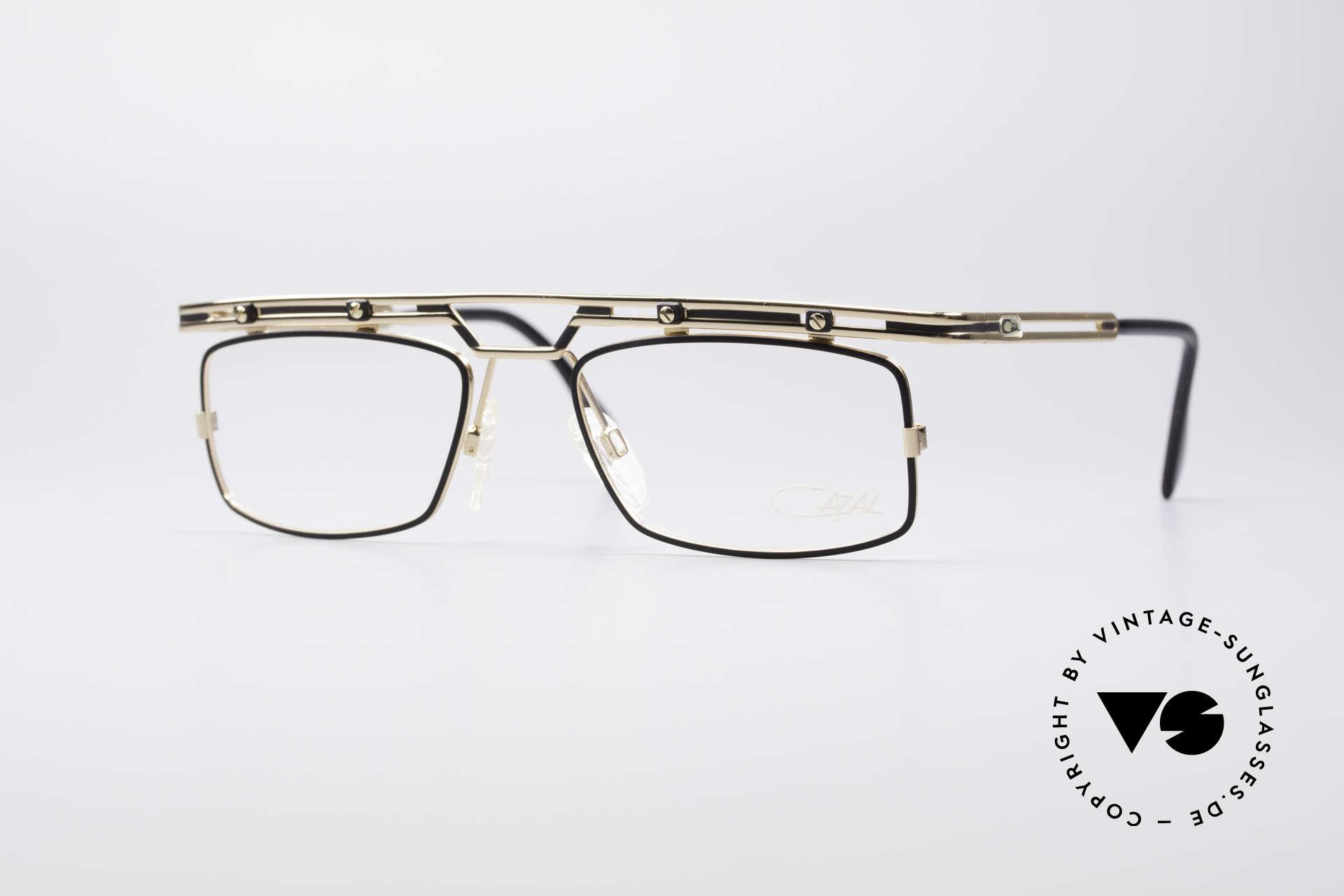 Cazal 975 Vintage 90er Designer Brille, sehr markante Cazal Designerbrille von ca. 1996/97, Passend für Herren
