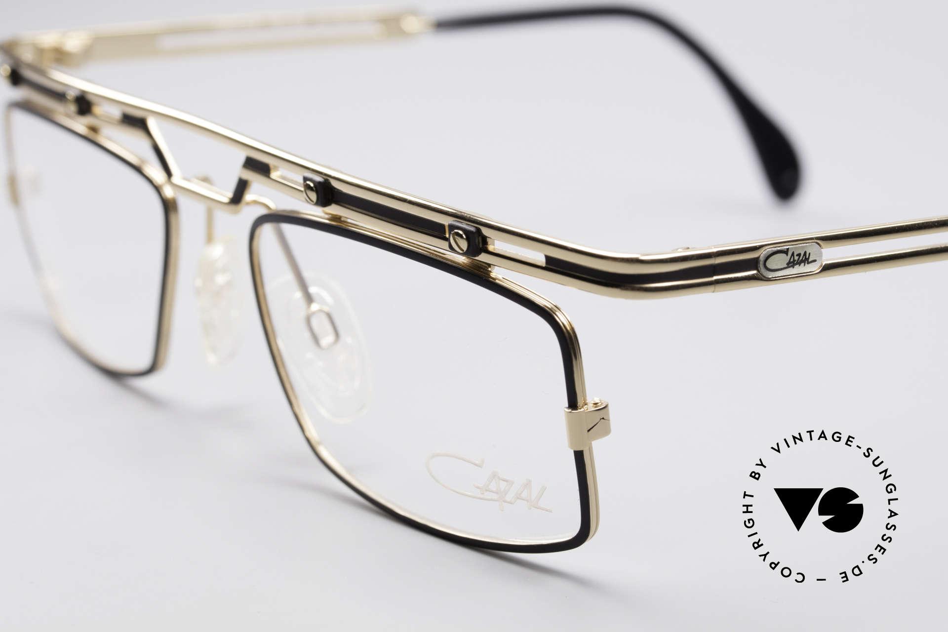 Cazal 975 Vintage 90er Designer Brille, echte Top-Qualität; wirklich noch 'made in Germany', Passend für Herren