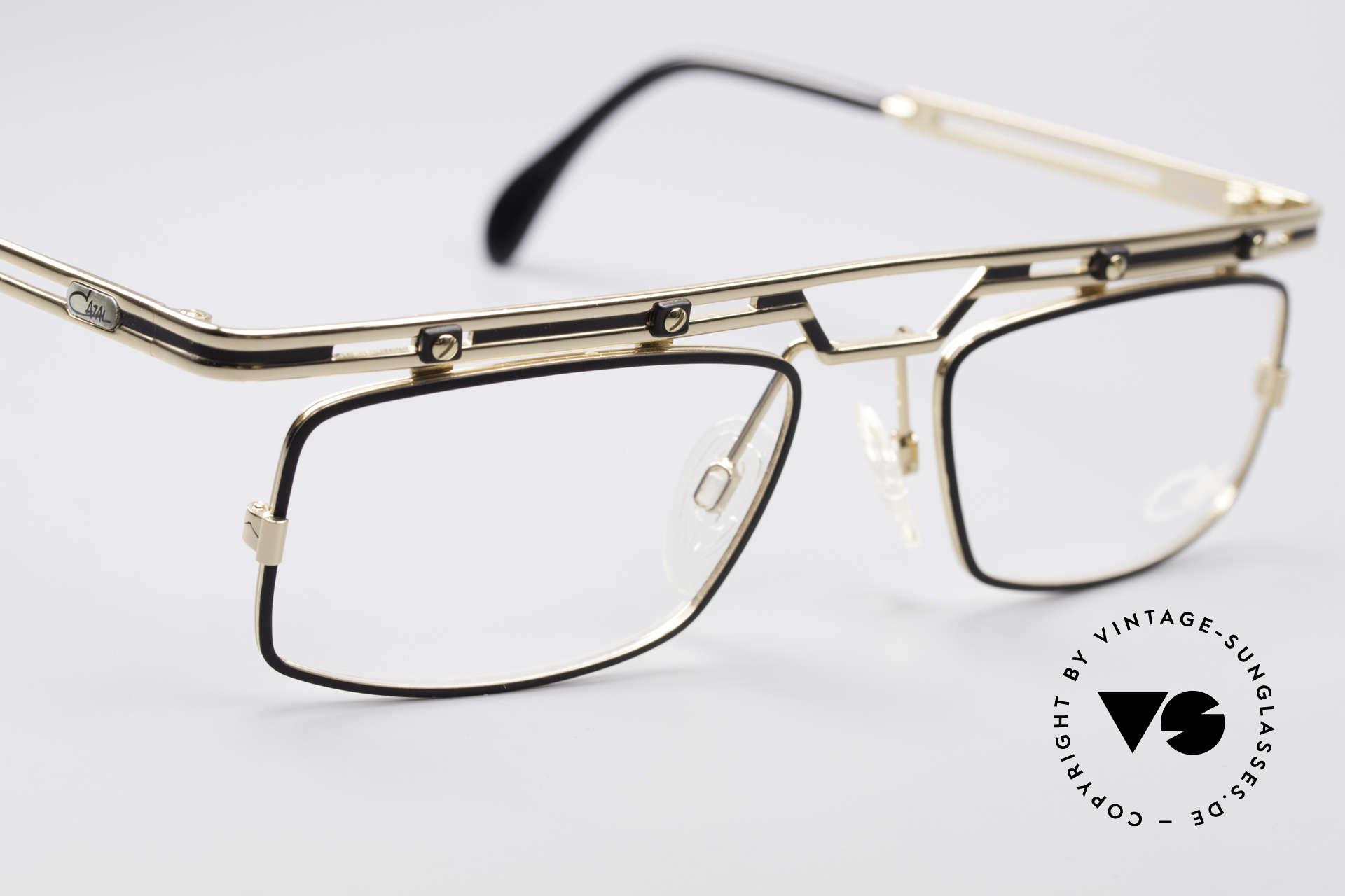 Cazal 975 Vintage 90er Designer Brille, ungetragen (wie alle unsere vintage CAZAL Brillen), Passend für Herren