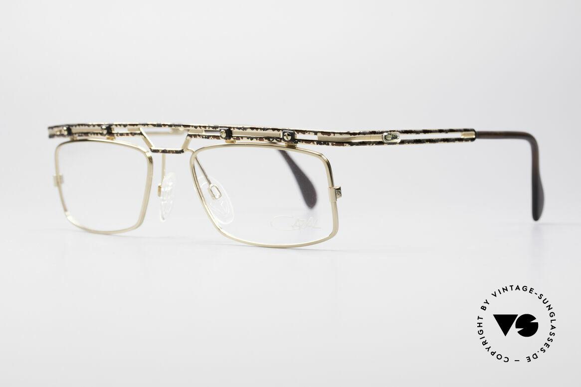 Cazal 975 Echt Vintage No Retro Brille, tolle Metallarbeiten & ein außergewöhnlicher Look, Passend für Herren