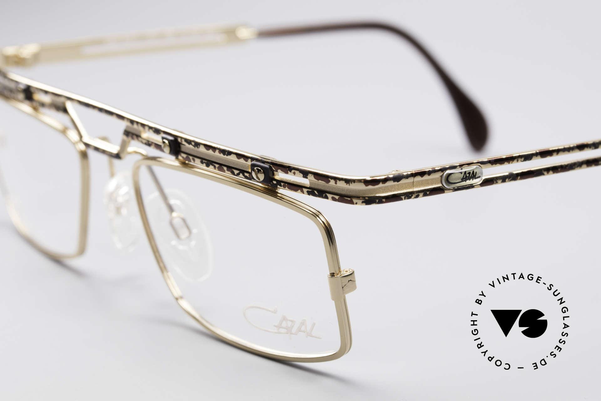 Cazal 975 Echt Vintage No Retro Brille, echte Top-Qualität; wirklich noch 'made in Germany', Passend für Herren