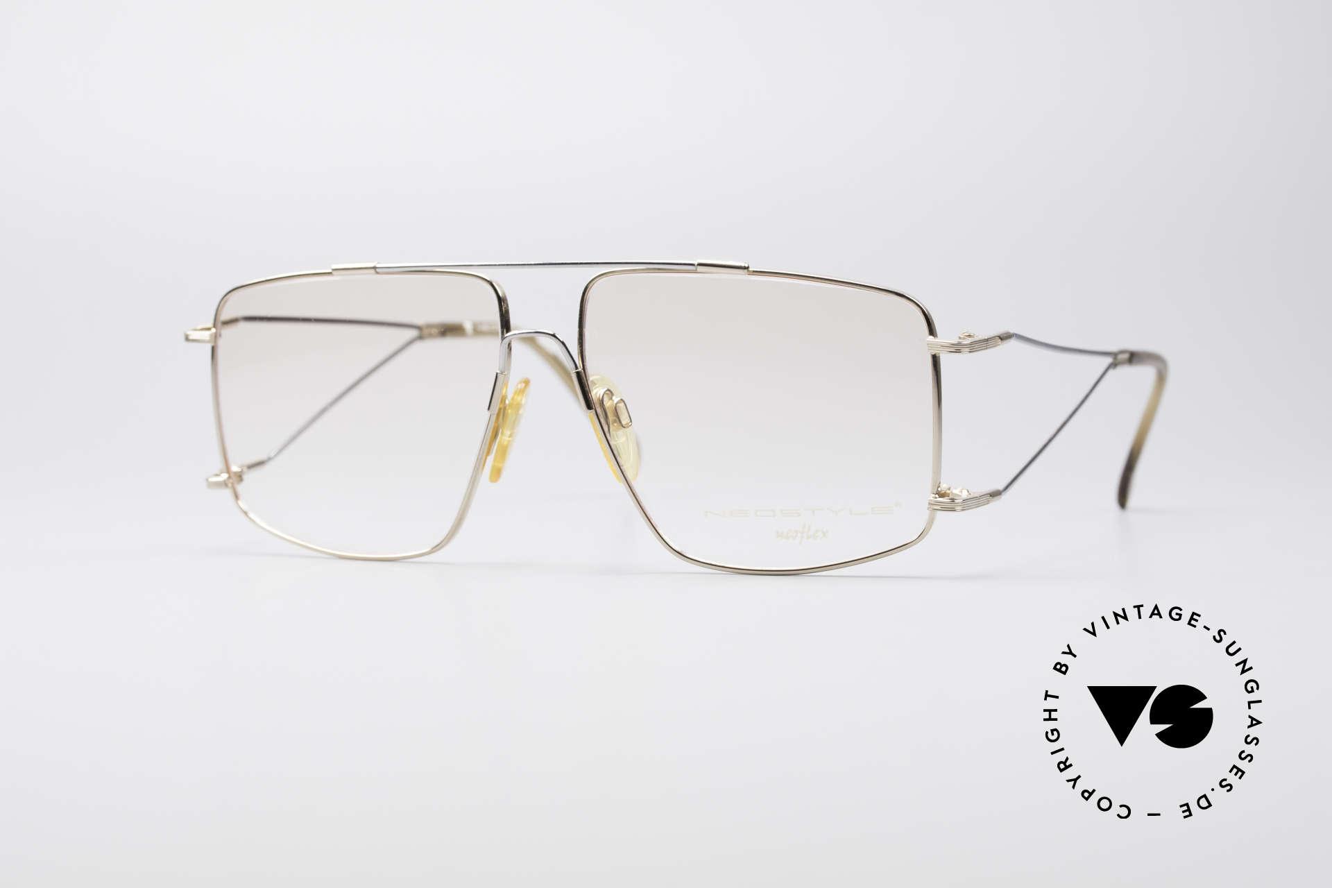 Neostyle Jet 40 Titanflex Vintage Brille, sensationelle vintage NEOflex Brille von NEOSTYLE, Passend für Herren
