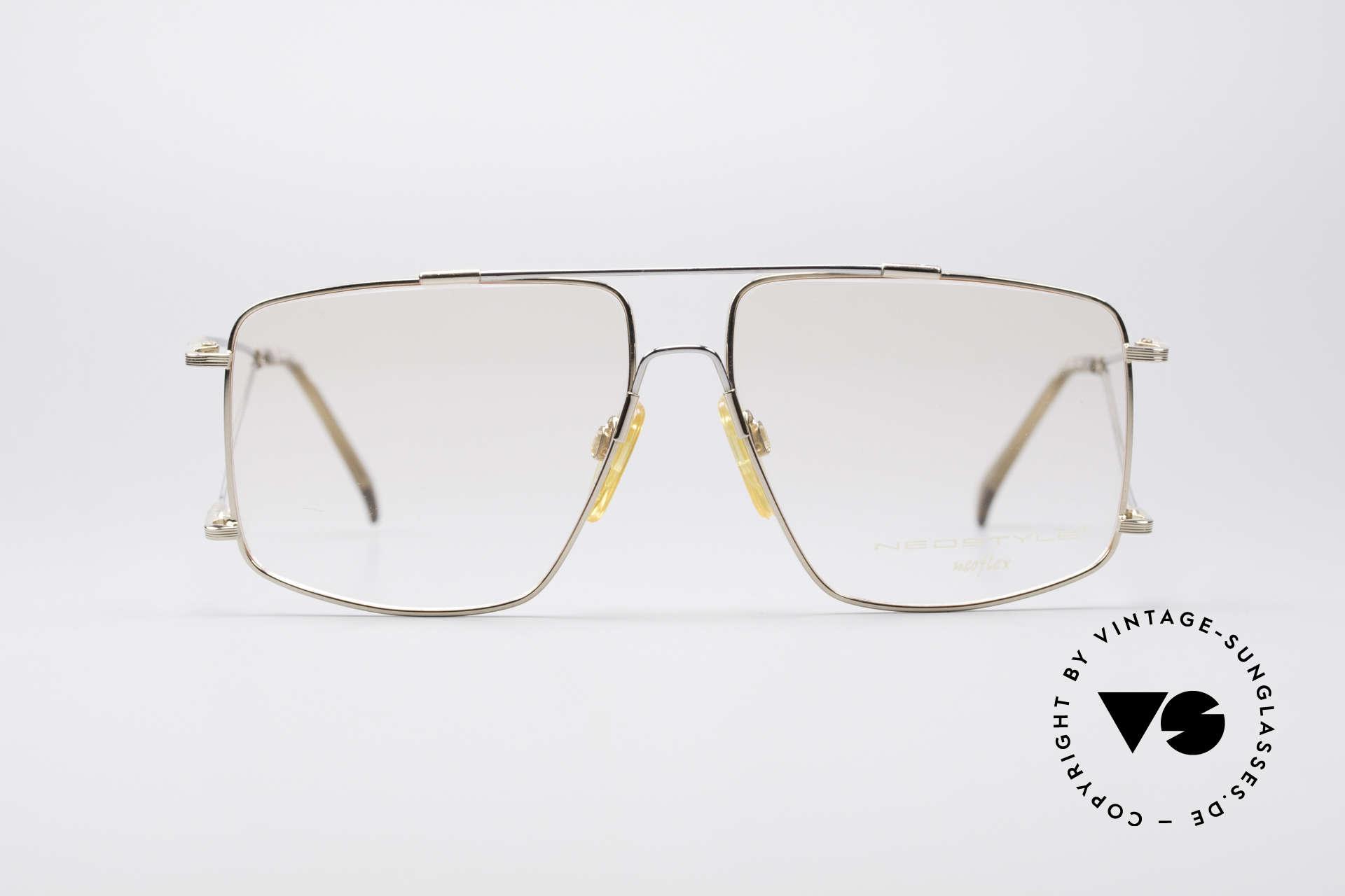 Neostyle Jet 40 Titanflex Vintage Brille, enormer Tragekomfort, dank TITAN-FLEX Material!, Passend für Herren
