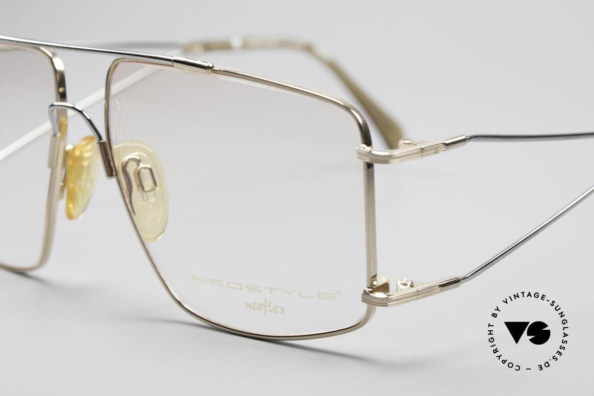 Neostyle Jet 40 Titanflex Vintage Brille, springt nach Verformung in ursprüngl. Form zurück, Passend für Herren