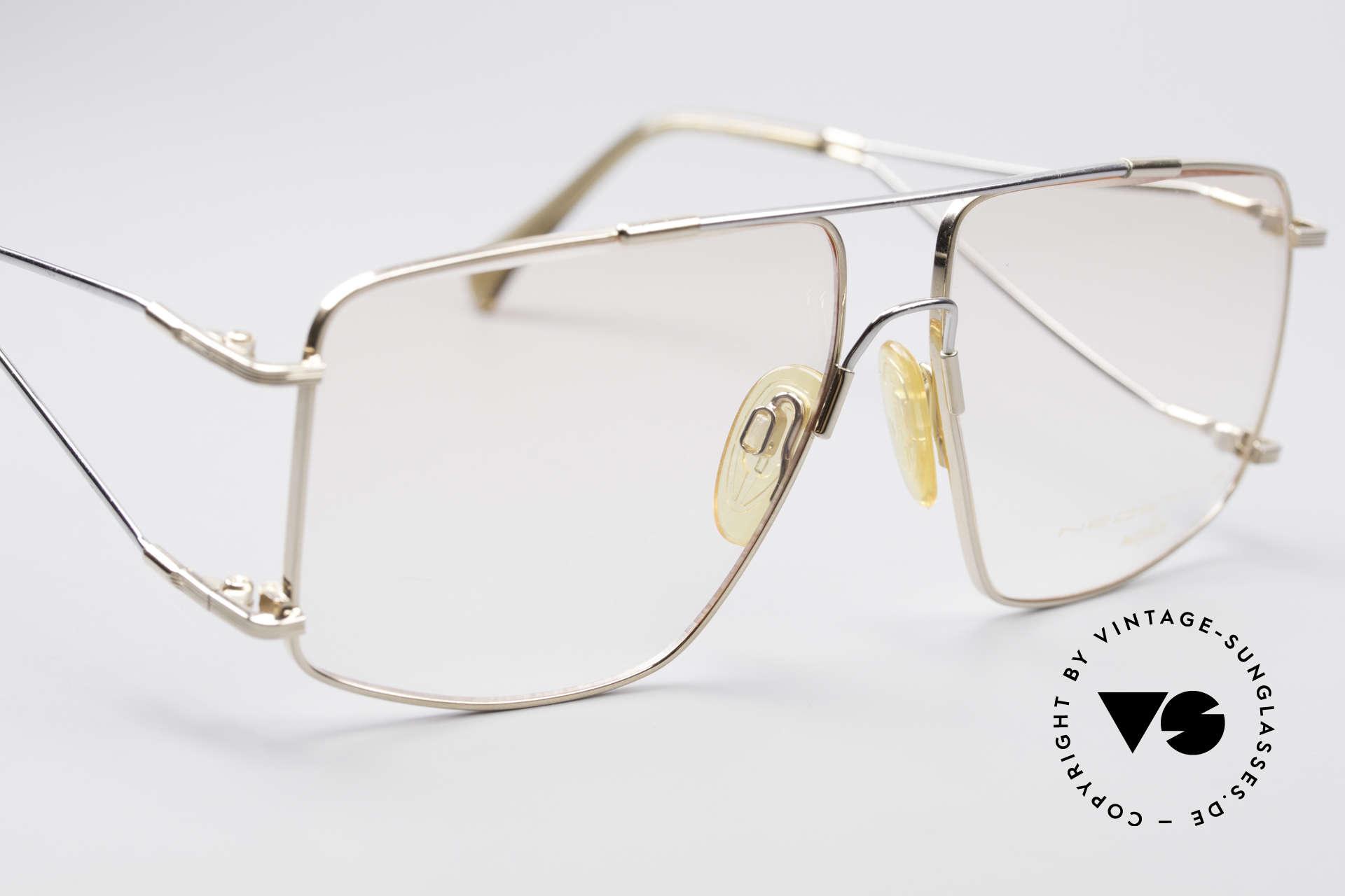 Neostyle Jet 40 Titanflex Vintage Brille, genialer 'Memory-Effekt' (muss man ausprobieren!), Passend für Herren