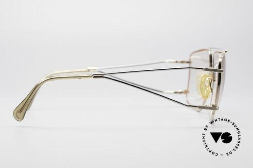 Neostyle Jet 40 Titanflex Vintage Brille, ungetragenes 1990er Original mit vintage Hartetui, Passend für Herren