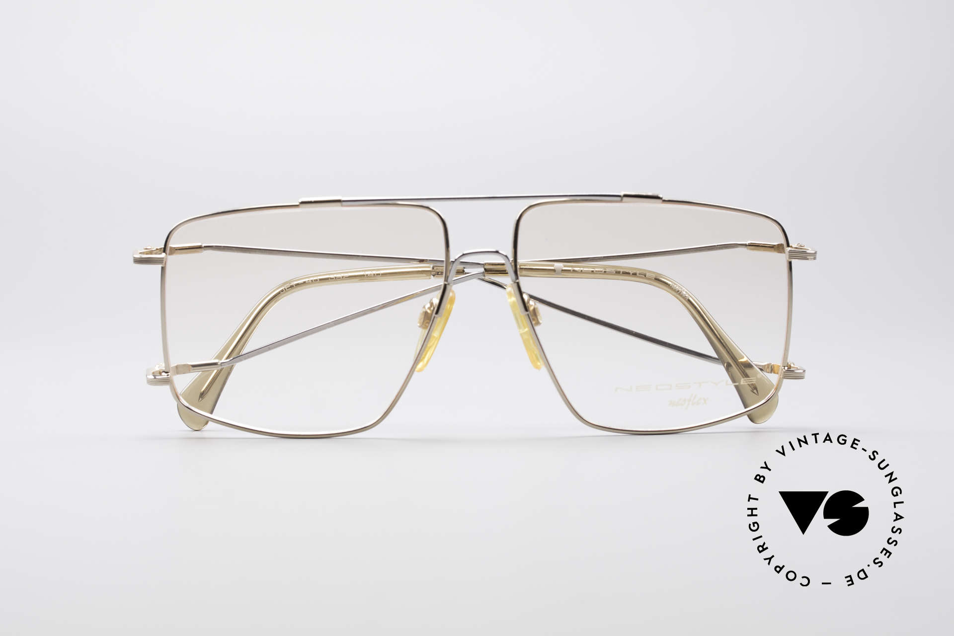 Neostyle Jet 40 Titanflex Vintage Brille, Größe: medium, Passend für Herren