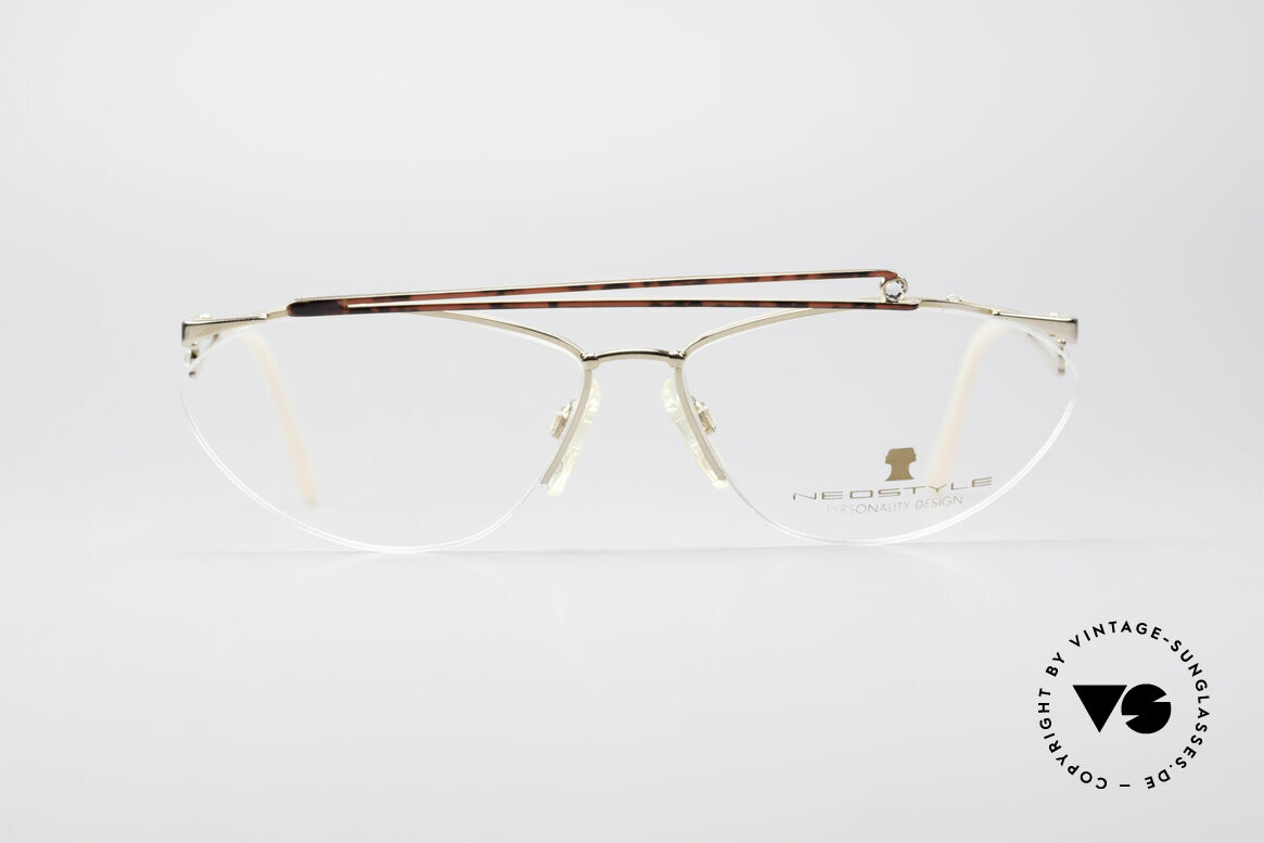 Neostyle Jet 221 Schmuckstein Vintage Brille, auffällige Rahmenkonstruktion: ein echter Hingucker, Passend für Damen