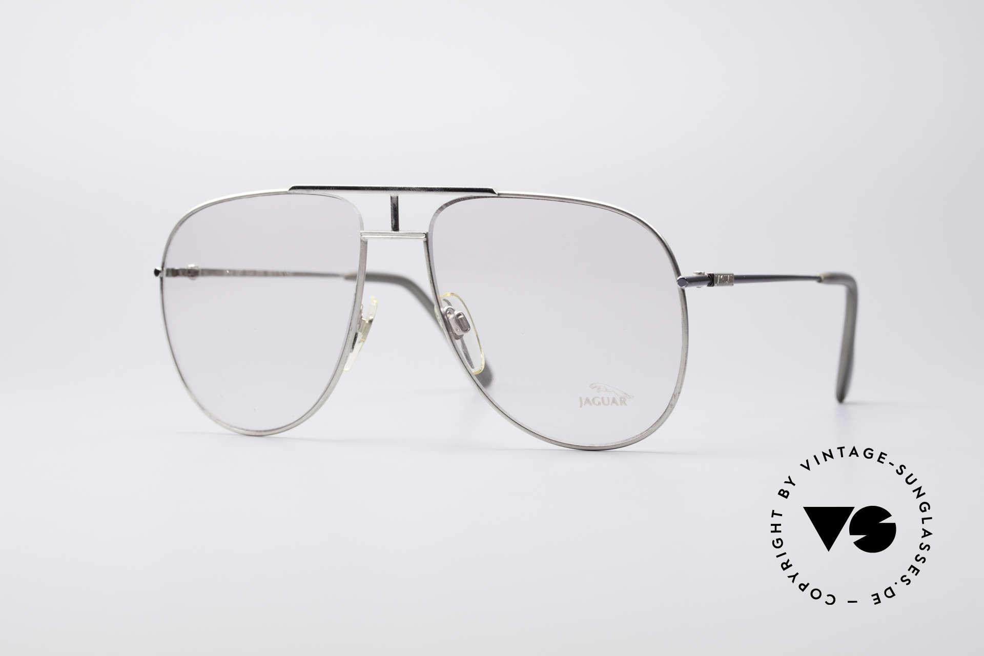 Jaguar 327 80er Vintage Herren Brille, herrliche und sehr markante Jaguar 80er Brille, Passend für Herren