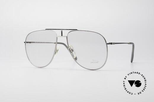 Jaguar 327 80er Vintage Herren Brille Details