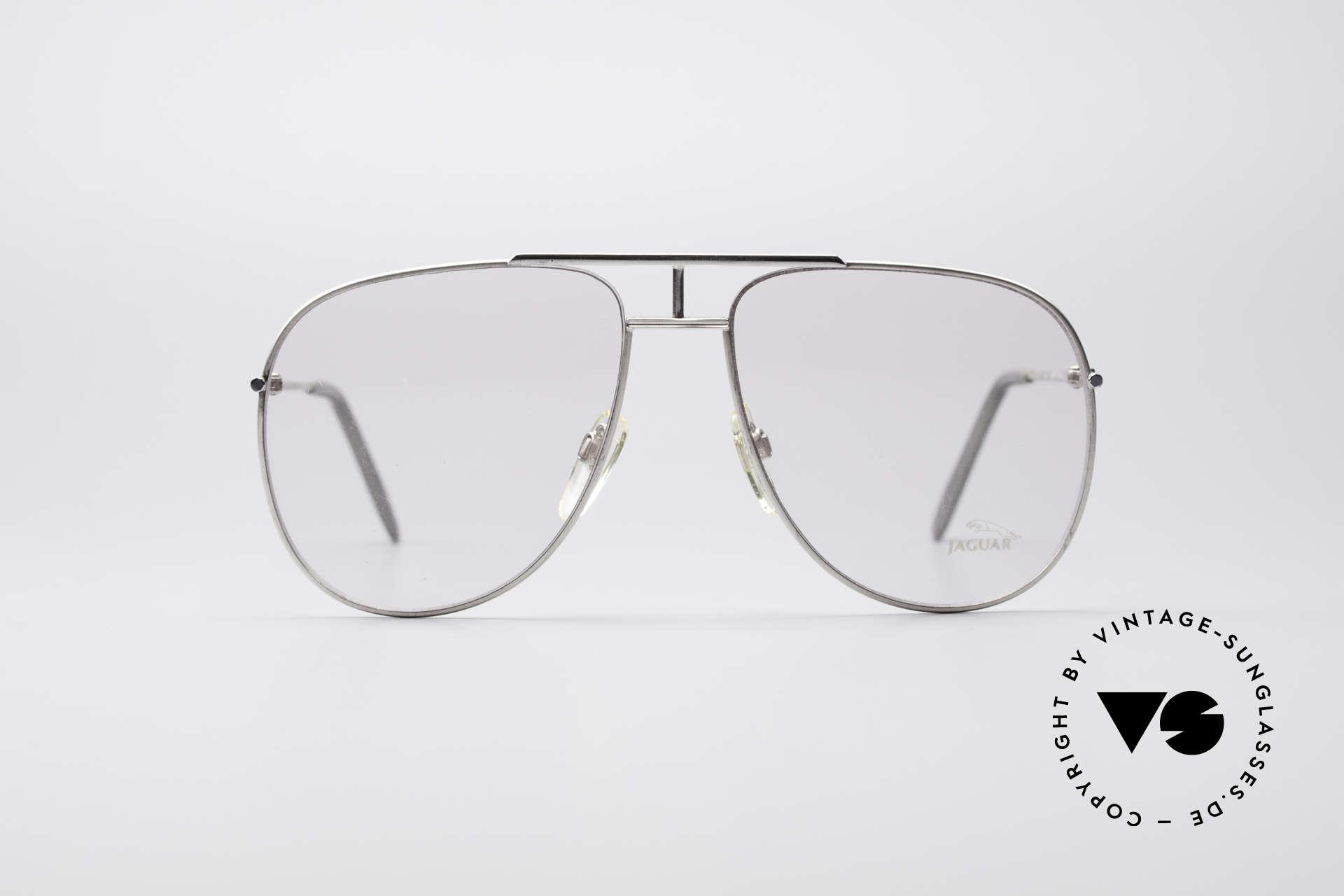 Jaguar 327 80er Vintage Herren Brille, Leichtmetallrahmen für perfekten Tagekomfort, Passend für Herren