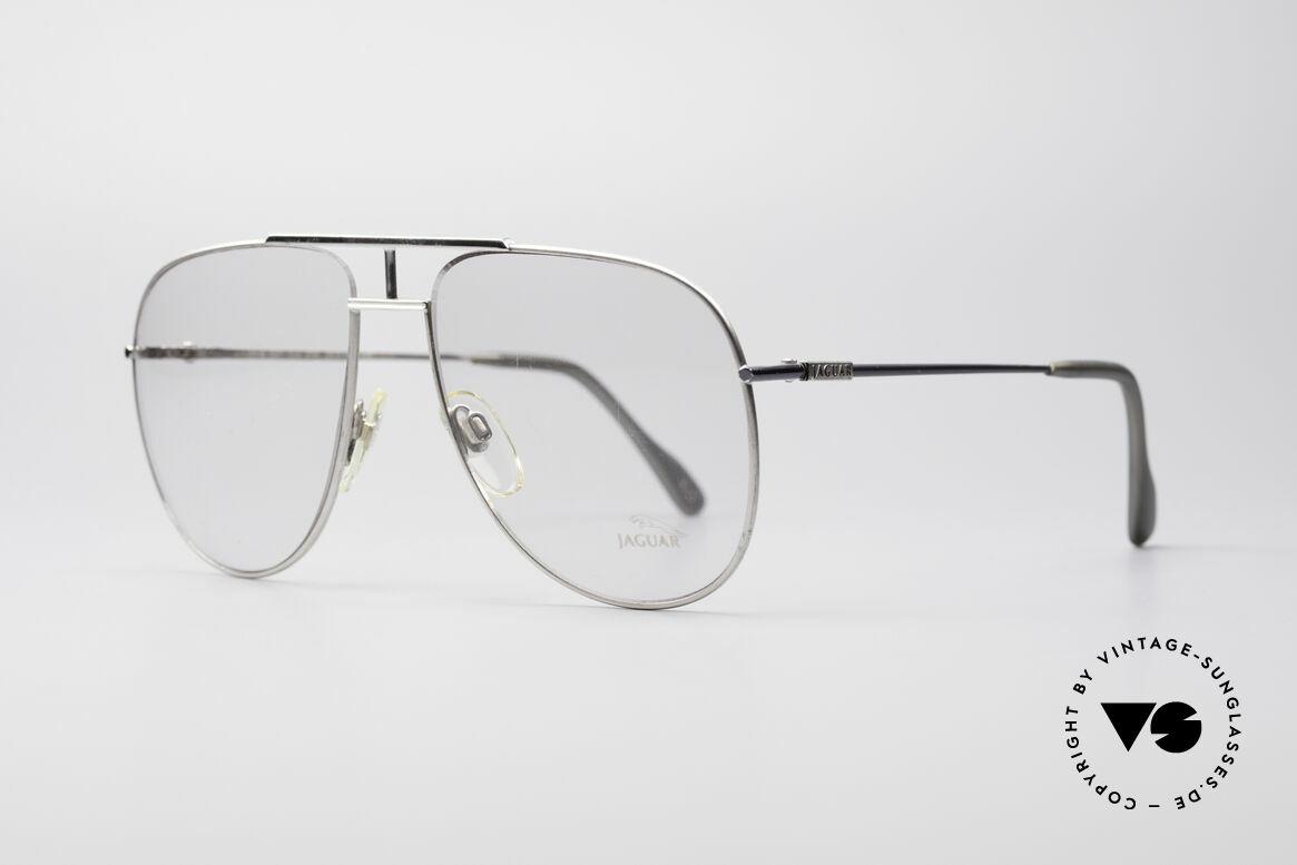 """Jaguar 327 80er Vintage Herren Brille, ganz eigene Interpretation der """"Pilotenbrille"""", Passend für Herren"""