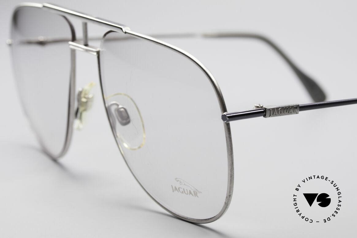 Jaguar 327 80er Vintage Herren Brille, ungetragen (wie alle unsere JAGUAR Fassungen), Passend für Herren