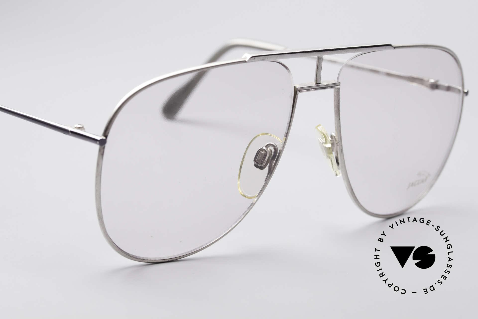 Jaguar 327 80er Vintage Herren Brille, KEINE RETROBrille, sondern ein 80er Original!, Passend für Herren