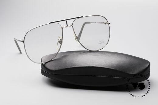 Jaguar 327 80er Vintage Herren Brille, Größe: medium, Passend für Herren