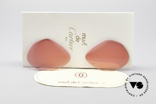 Cartier Vendome Lenses - M Sonnengläser Pink Details