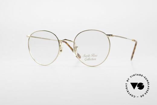 Savile Row Panto 49/20 John Lennon Vintage Brille Details