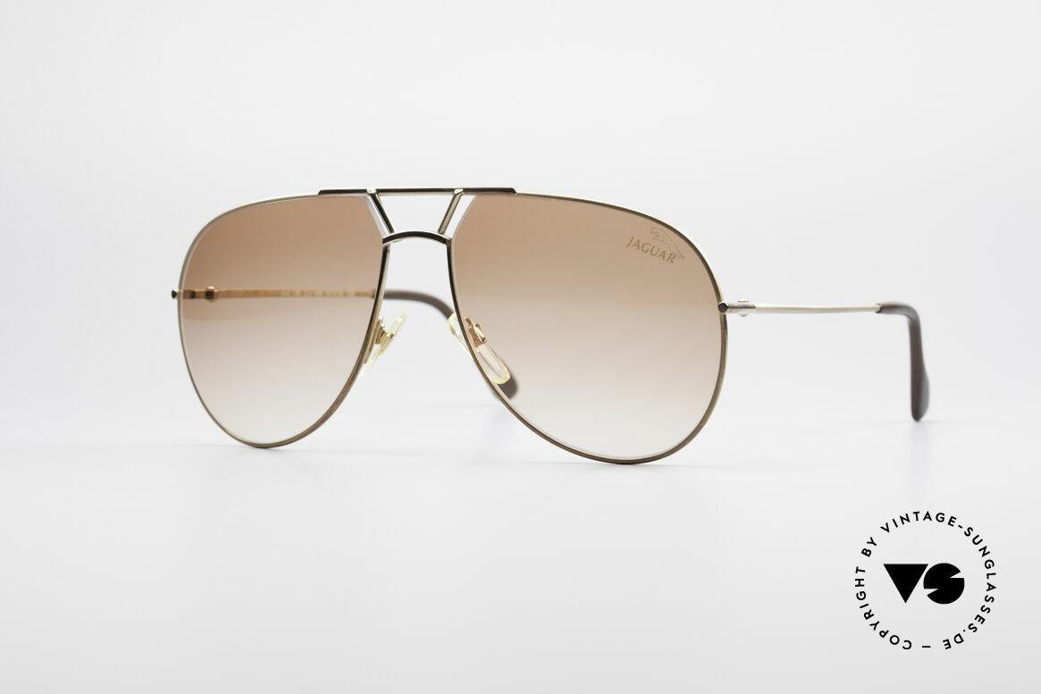 Jaguar 795 Vintage Herren Sonnenbrille, vintage 80er Jaguar Sonnenbrille im 'Aviator-Design', Passend für Herren