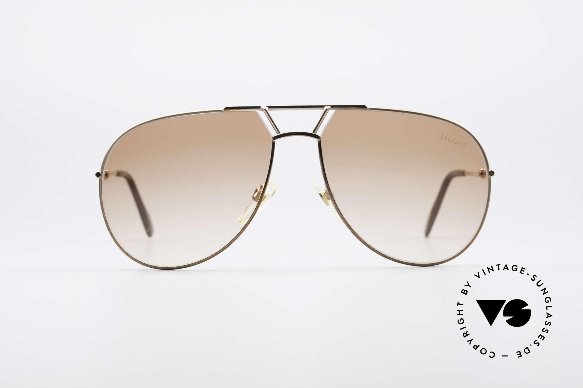 """Jaguar 795 Vintage Herren Sonnenbrille, markant, männlich & """"very british"""": Gentlemanbrille, Passend für Herren"""