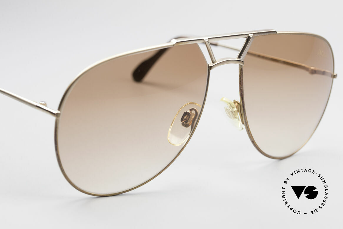 Jaguar 795 Vintage Herren Sonnenbrille, KEINE Retromode, sondern ein altes 80er ORIGINAL!, Passend für Herren