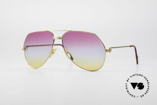 Cartier Vendome LC - L Rare Luxus Vintage Brille Details
