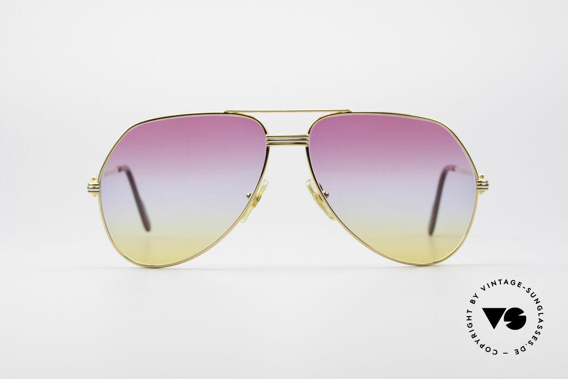 Cartier Vendome LC - L Rare Luxus Vintage Brille, wurde 1983 veröffentlicht & dann bis 1997 produziert, Passend für Herren und Damen