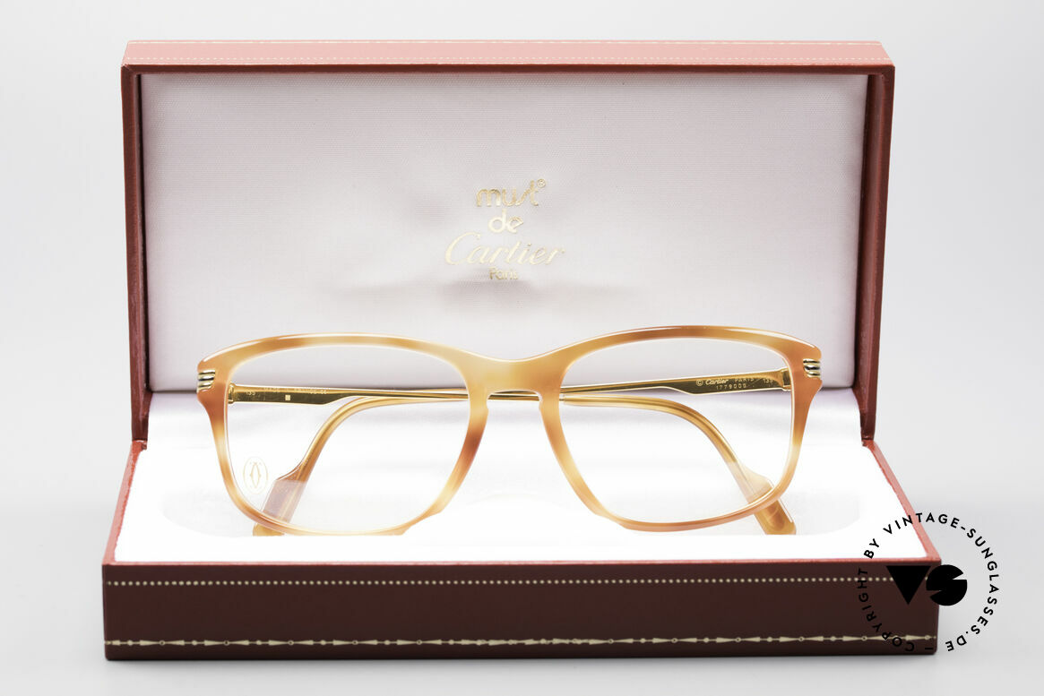Cartier Lumen - S 90er Luxus Vintagebrille