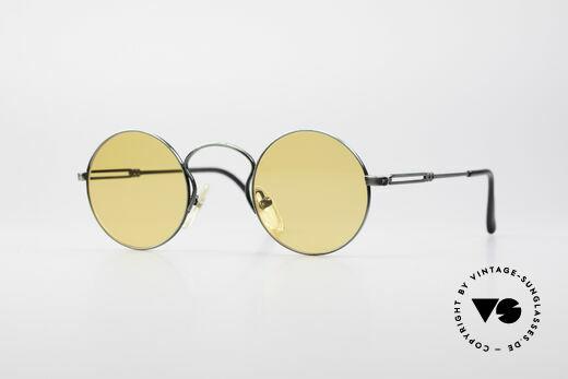 Jean Paul Gaultier 55-0172 Runde Vintage Brille JPG Details