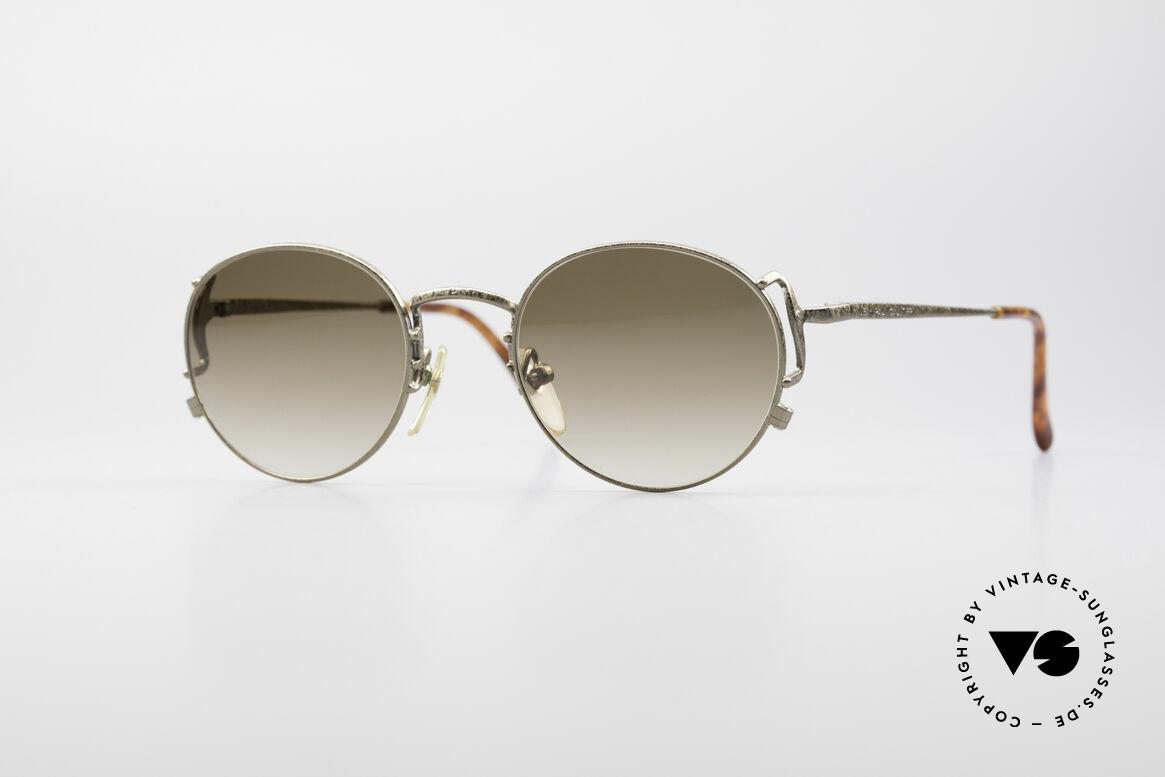 Jean Paul Gaultier 55-3178 90er Vintage No Retro Brille, edle Jean Paul Gaultier 90er Jahre Sonnenbrille, Passend für Herren und Damen