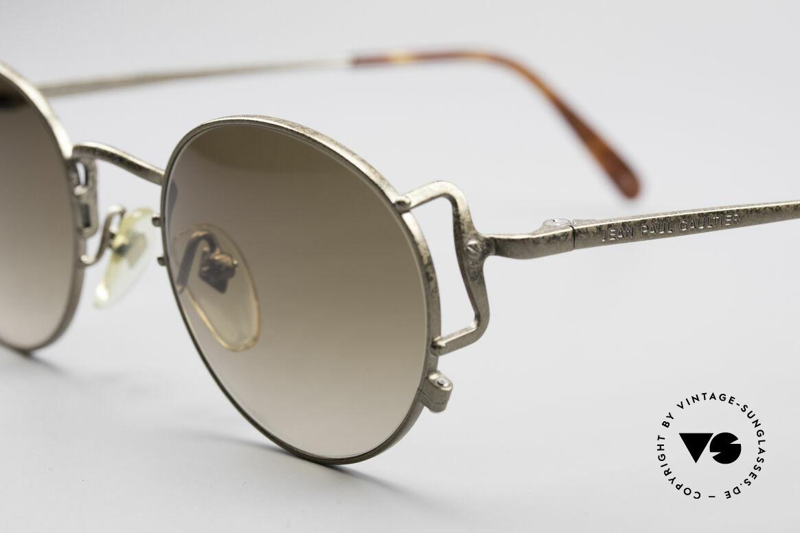 Jean Paul Gaultier 55-3178 90er Vintage No Retro Brille, ungetragen (wie all unsere J.P.G. Sonnenbrillen), Passend für Herren und Damen