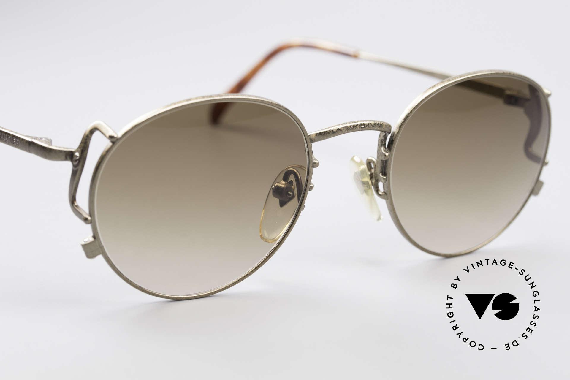 Jean Paul Gaultier 55-3178 90er Vintage No Retro Brille, KEINE Retrobrille; ein ca. 25 Jahre altes Unikat!, Passend für Herren und Damen