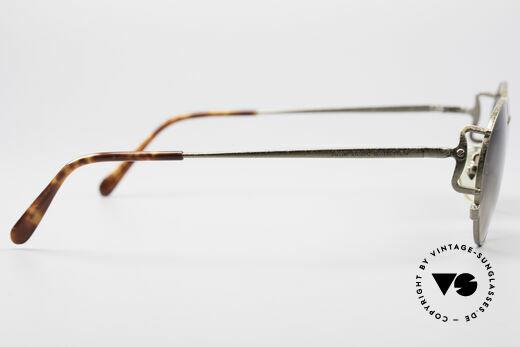Jean Paul Gaultier 55-3178 90er Vintage No Retro Brille, die Fassung ist auch für optische Gläser geeignet, Passend für Herren und Damen