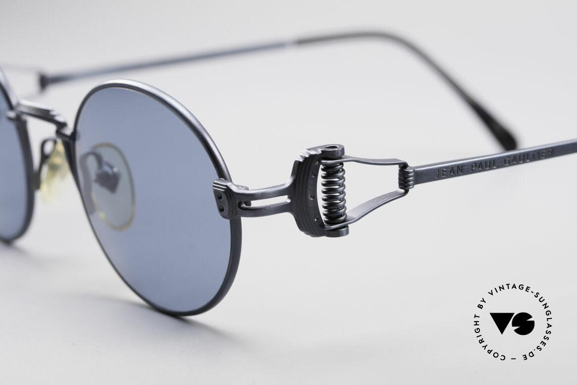 """Jean Paul Gaultier 55-5106 Steampunk Vintage Brille JPG, heutzutage auch oft als """"Steampunk Brille"""" bezeichnet, Passend für Herren und Damen"""