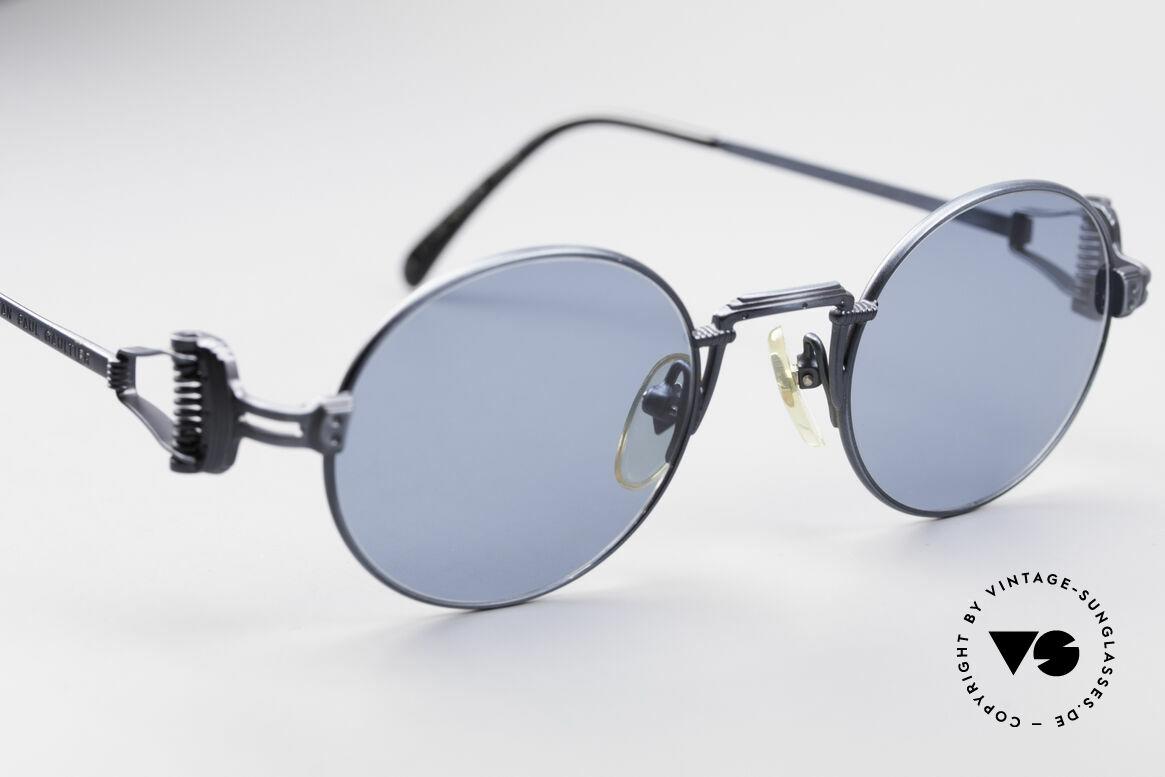 Jean Paul Gaultier 55-5106 Steampunk Vintage Brille JPG, nie getragen (wie alle unsere alten JPG Sonnenbrillen), Passend für Herren und Damen