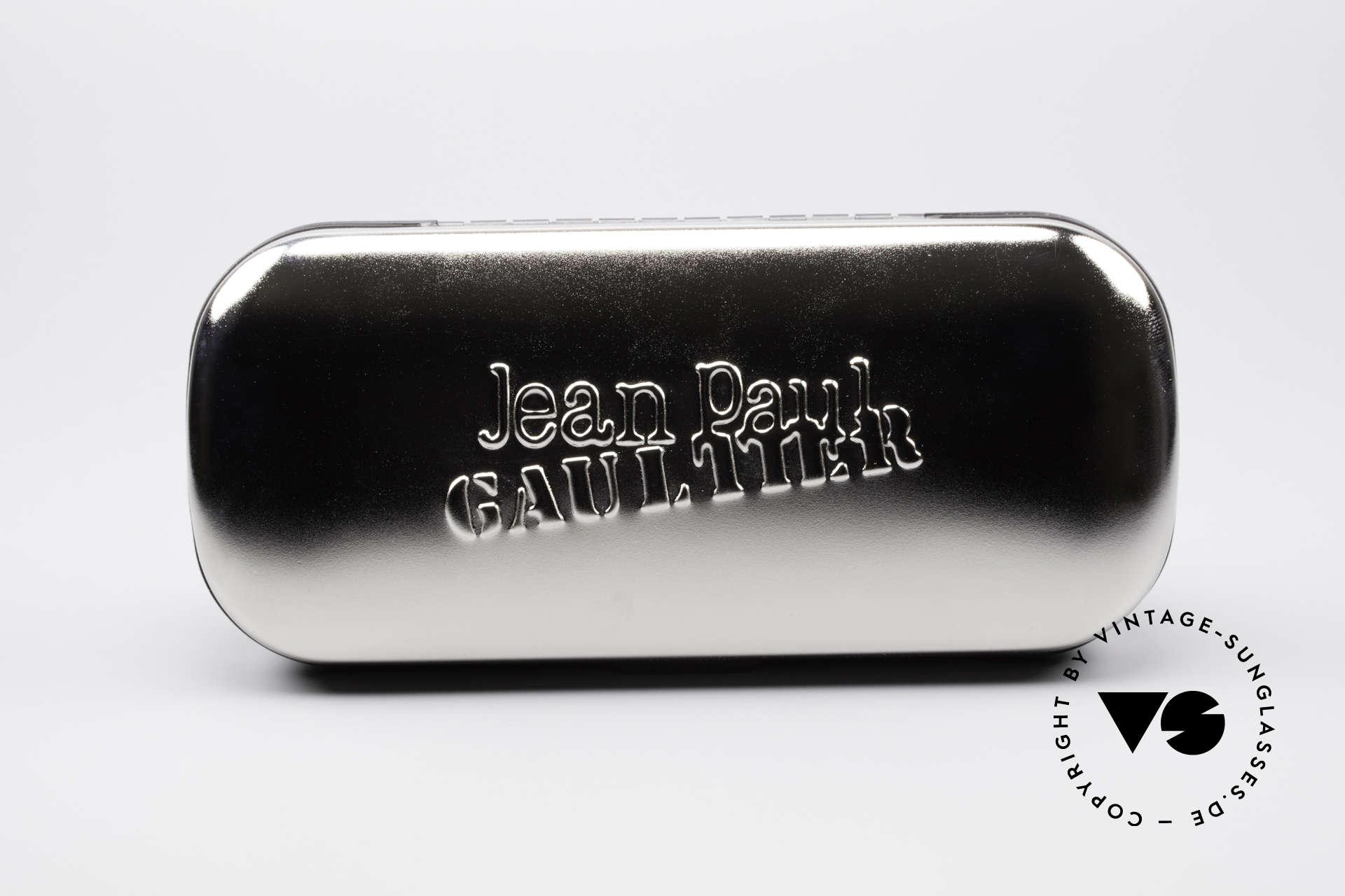 Jean Paul Gaultier 56-7107 Industrial Vintage Brille, Größe: medium, Passend für Herren und Damen