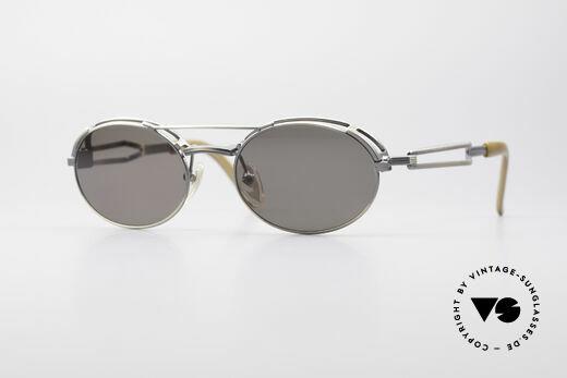 Jean Paul Gaultier 56-7107 Industrial Vintage Brille Details