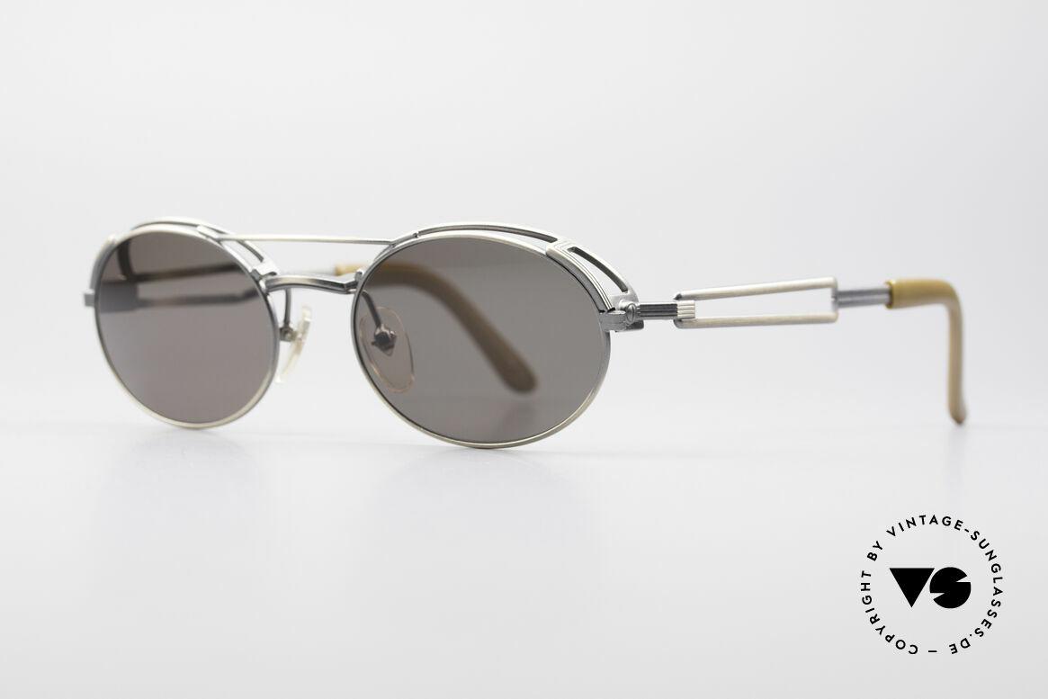 Jean Paul Gaultier 56-7107 Industrial Vintage Brille, auch als 'Industrial Design' oder 'Steampunk' bezeichnet, Passend für Herren und Damen