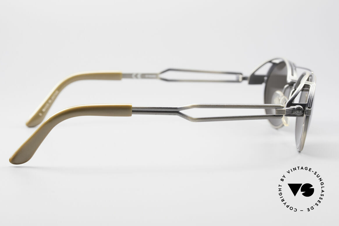 Jean Paul Gaultier 56-7107 Industrial Vintage Brille, ungetragenes Einzelstück (wie alle unsere J.P.G. Brillen), Passend für Herren und Damen