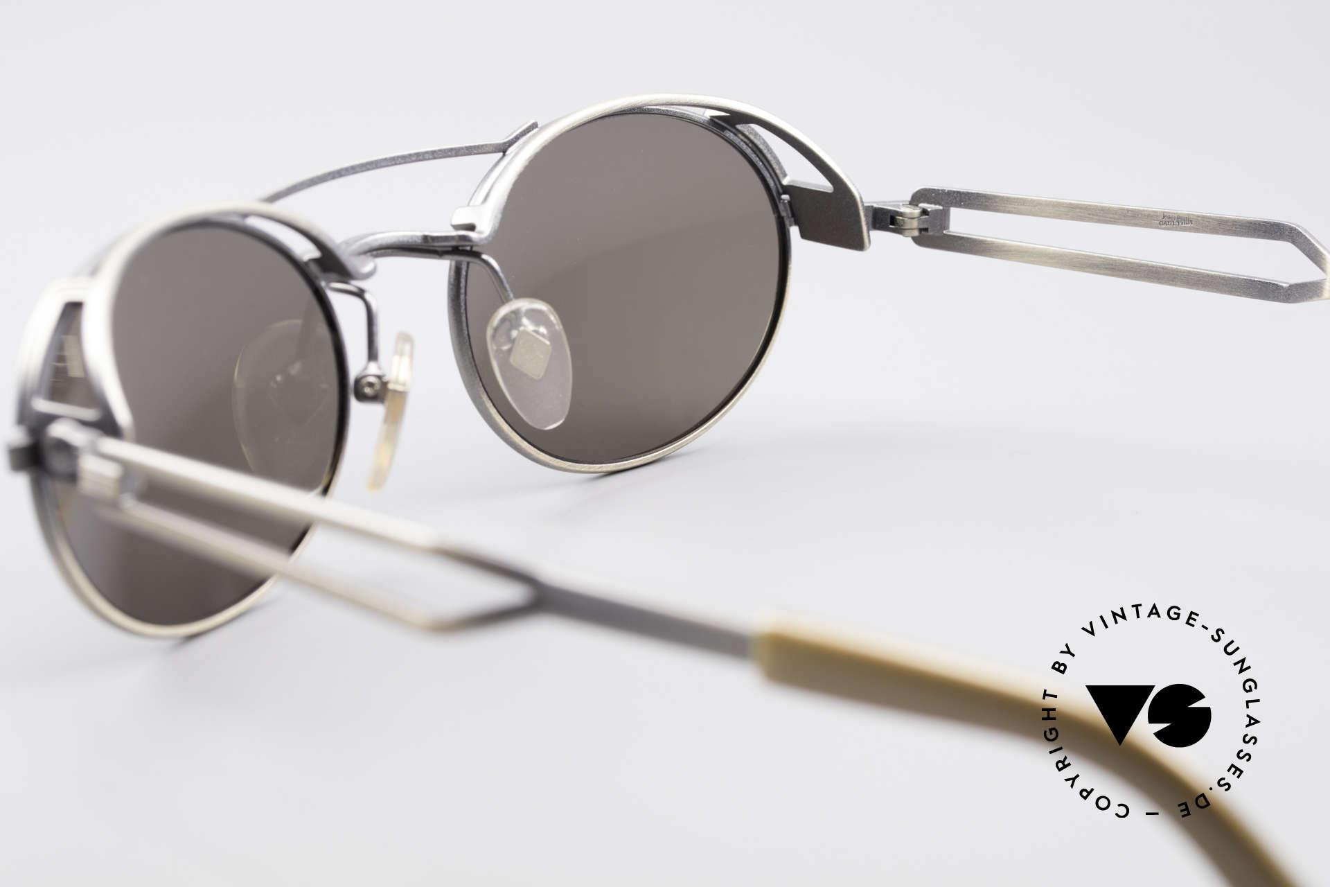 Jean Paul Gaultier 56-7107 Industrial Vintage Brille, KEINE retro Sonnenbrille; ein ca. 25 Jahre altes Original, Passend für Herren und Damen