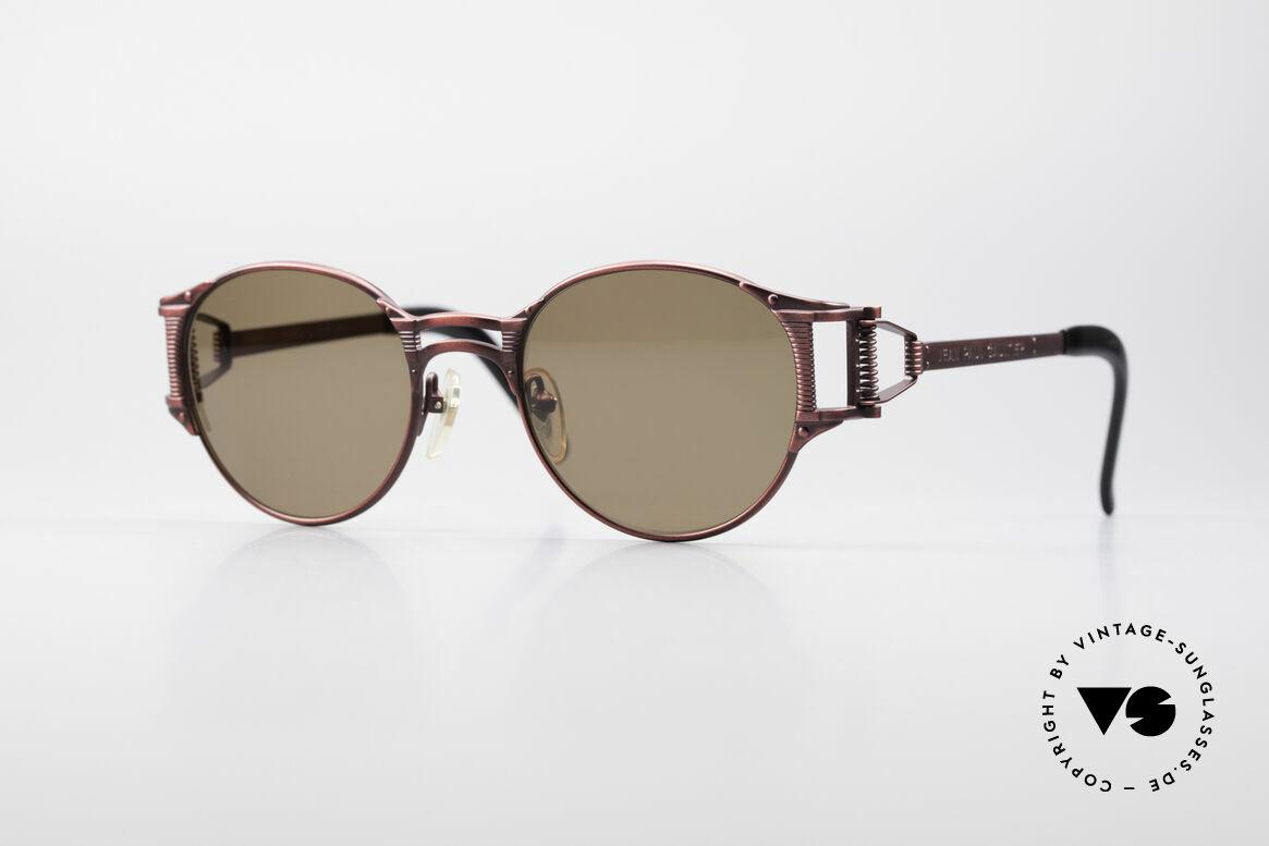 Jean Paul Gaultier 56-5105 Rare Celebrity Sonnenbrille, einzigartige vintage Sonnenbrille von Jean Paul Gaultier, Passend für Herren und Damen