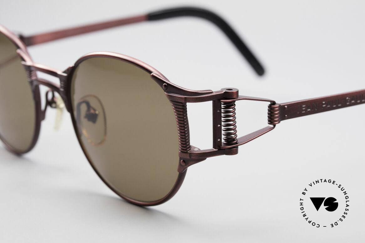Jean Paul Gaultier 56-5105 Rare Celebrity Sonnenbrille, Wahnsinns-Qualität; made in Japan (wie aus einem Guss), Passend für Herren und Damen