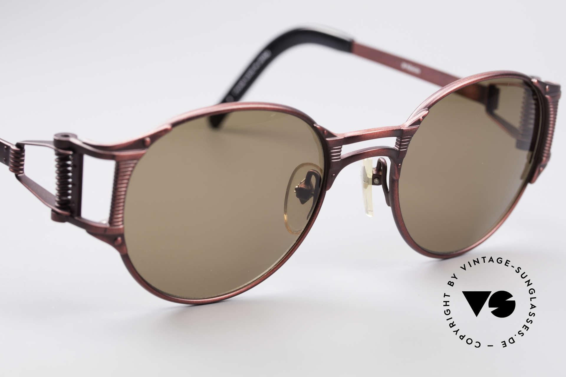 Jean Paul Gaultier 56-5105 Rare Celebrity Sonnenbrille, ungetragenes Einzelstück (wie alle unsere vintage J.P.G.), Passend für Herren und Damen